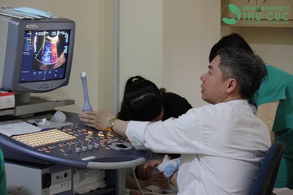 Siêu âm tim tại bệnh viện Thu Cúc