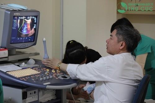 Siêu âm chẩn đoán nguyên nhân đau bụng bên trái