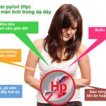 Điều trị bệnh dạ dày do vi khuẩn HP