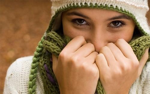 Giữ ấm cơ thể phòng ngừa viêm mũi
