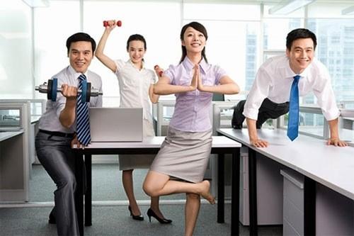 Vận động tại chỗ làm việc