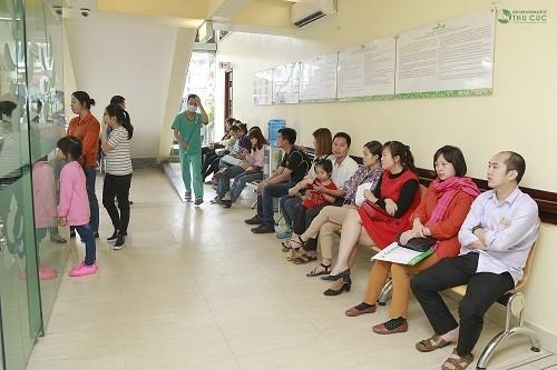 Với số lượng bệnh nhân không ngừng tăng, Bệnh viện Thu Cúc luôn mong muốn đáp ứng nhu cầu khám và điều trị của ngày càng nhiều bệnh nhân hơn.