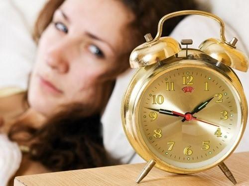 Phụ nữ trung niên dễ mất ngủ