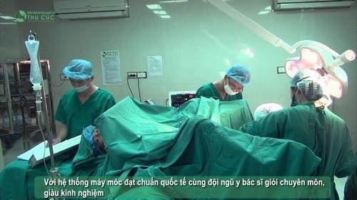 Cắt trĩ hiệu quả, an toàn tại bệnh viện Thu Cúc