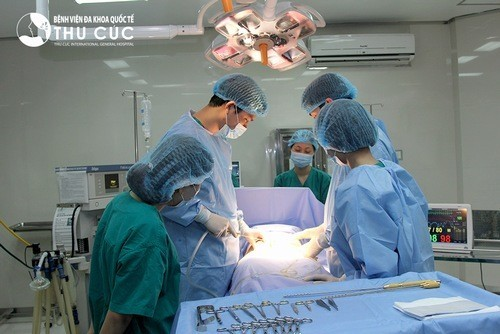 Phẫu thuật tắc vòi trứng hiệu quả tại bệnh viện Thu Cúc