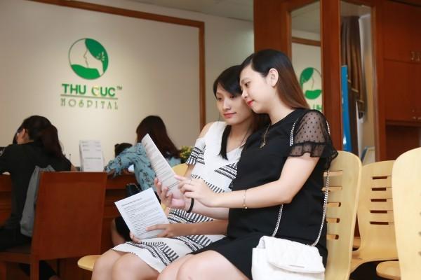 Đơn vị sản của Bệnh viện Đa khoa Quốc tế Thu Cúc là địa chỉ khám thai uy tín được rất nhiều chị em lựa chọn
