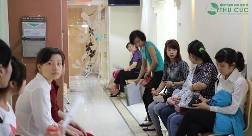Đơn vị Sản khoa của Bệnh viện Thu Cúc đón tiếp nhiều lượt khách hàng đến thăm khám