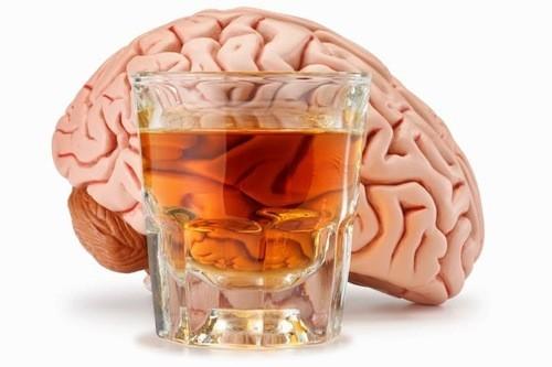 Rượu gây teo não, mất trí nhớ