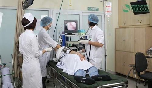 Thăm khám chẩn đoán viêm loét dạ dày