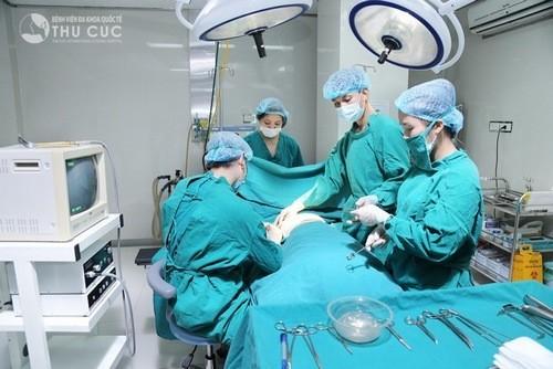 Phẫu thuật u nang buồng trứng an toàn hiệu quả tại bệnh viện Thu Cúc