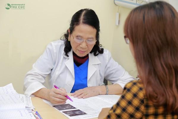 Tại Bệnh viện Thu cúc, bệnh nhân sẽ được bác sĩ kiểm tra, thăm khám kỹ lưỡng