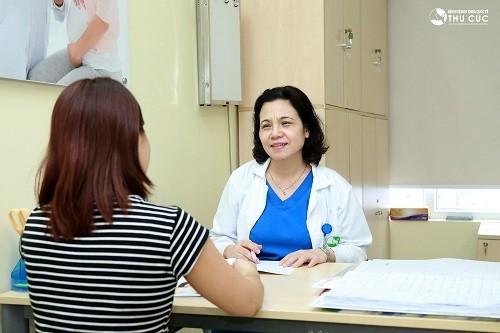 Nhiều phụ nữ tin tưởng bệnh viện Thu Cúc để xử trí u xơ tử cung