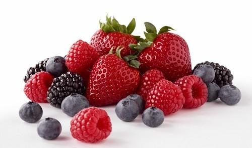 Anthocyanidins là chất chống oxy hoá tạo nên màu đỏ trong các thực phẩm như dây tây, việt quất...