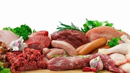 thực phẩm người bệnh sỏi thận nên tránh là hạn chế các loại thịt