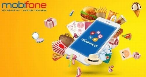Ưu đãi cho khách hàng sử dụng ứng dụng mConnect của Mobifone
