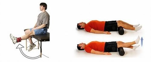 Chế độ tập luyện sau mổ tái tạo dây chằng chéo trước