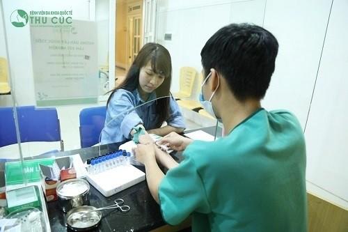 Bệnh viện Thu Cúc thăm khám và xét nghiệm GGT chính xác