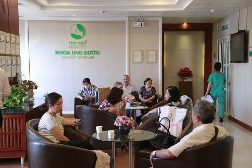 Khoa Ung bướu - bệnh viện Thu Cúc là một trong những địa chỉ khám chữa bệnh tin cậy được nhiều khách hàng tin tưởng tìm đến