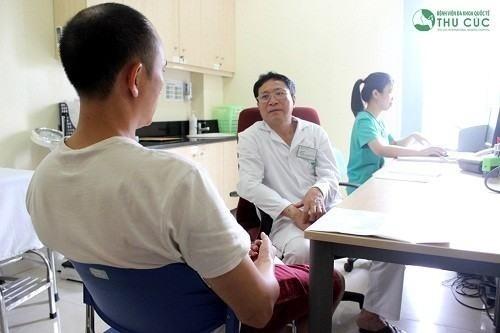 Thăm khám để được phát hiện sớm và điều trị sỏi thận dễ dàng hiệu quả