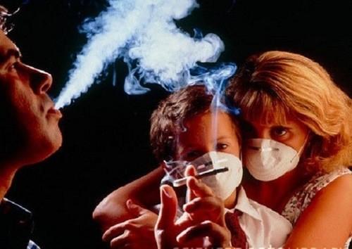 Thuốc lá gây hại cho những người xung quanh