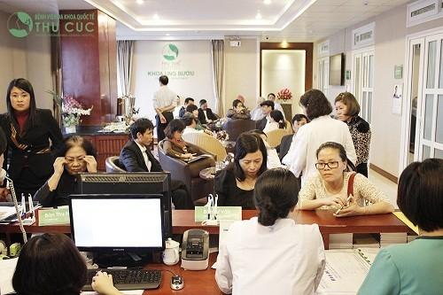 Bệnh viện Thu Cúc là địa chỉ tin cậy được nhiều khách hàng tin tưởng tìm đến tầm soát ung thư