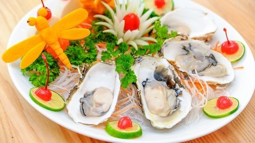 Các loại hải sản có chứa hàm lượng sắt rất cao