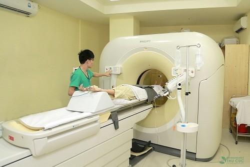 Bệnh viện Thu Cúc có trang thiết bị y tế hiện đại hỗ trợ đắc lực quá trình chẩn đoán, phát hiện sớm các bệnh lý tiềm ẩn trong cơ thể