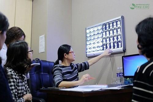 Khi nghi ngờ mắc bệnh, người bệnh sẽ được bác sĩ giỏi tại bệnh viện Thu Cúc trực tiếp tư vấn điều trị