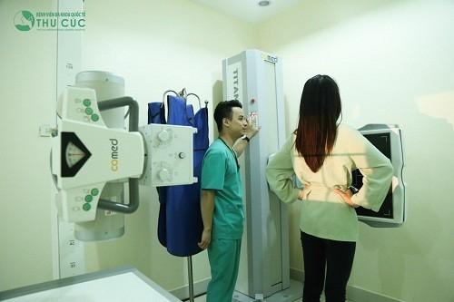 Chụp X-quang phổi là một trong những phương pháp giúp chẩn đoán sớm ung thư phổi
