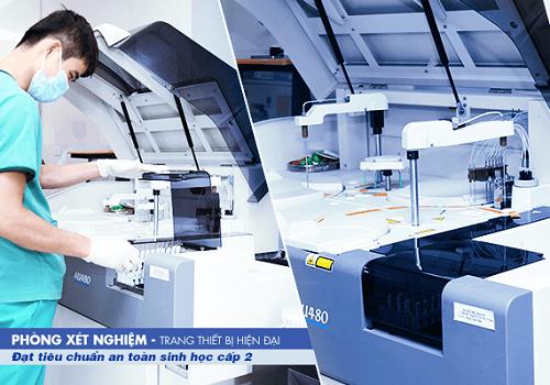 Bệnh viện Thu Cúc có trang thiết bị y tế hiện đại giúp chẩn đoán chính xác tình trạng bệnh