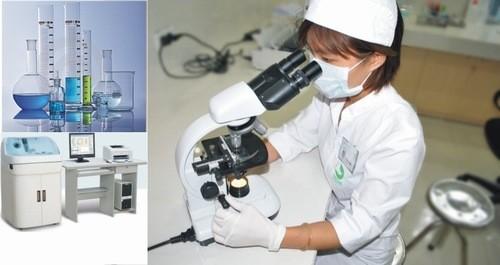 Để hỗ trợ tối đa quy trình khám chữa bệnh, bệnh viện cũng đầu tư hệ thống máy móc hiện đại như máy chụp X quang, hệ thống phòng xét nghiệm đạt tiêu chuẩn an toàn sinh học cấp II...
