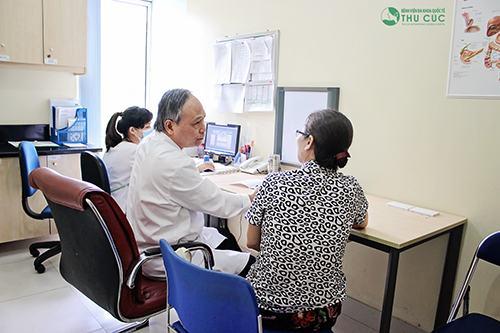 Khi đến khám và điều trị bệnh tại Bệnh viện Thu Cúc, người bệnh sẽ được thăm khám bởi đội ngũ bác sĩ có trình độ chuyên môn cao
