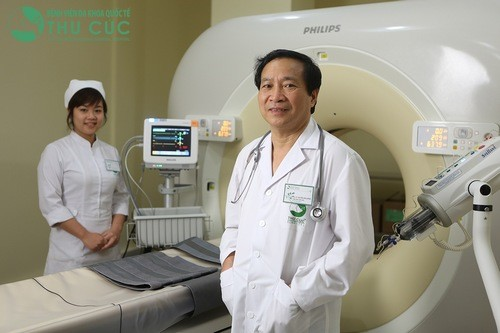 Chụp CT scanner giúp phát hiện và chẩn đoán u tế bào khổng lồ