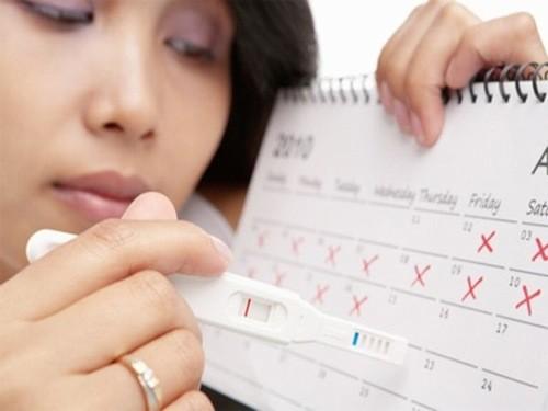 Thời gian rụng trứng thường xảy ra thời gian giữa kỳ kinh