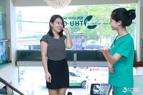 Nhiều khách hàng tin tưởng lựa chọn siêu âm vùng bụng tại bệnh viện Thu Cúc