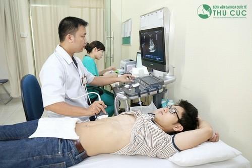 Siêu âm gan chẩn đoán bệnh gan mật
