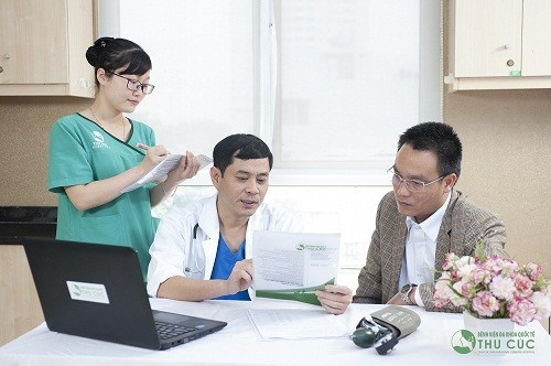 Người bệnh cần đi khám bác sĩ khoa ung bướu để được chẩn đoán chính xác bệnh