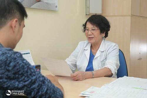 Nên đến bác sĩ chuyên khoa để được thăm khám, tư vấn hỗ trợ điều trị kịp thời.
