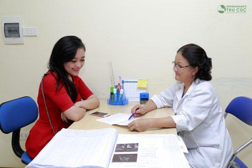 Nên đi thăm khám tại cơ sở y tế để có chỉ định chính xác khi có dấu hiệu bất thường.