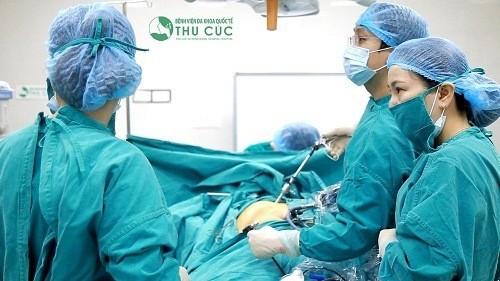 Bệnh viện Thu Cúc là địa chỉ mổ ruột thừa hiệu quả, an toàn