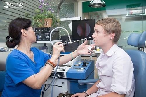 Bệnh viện Thu Cúc là địa chỉ khám nội soi tai mũi họng an toàn hiệu quả