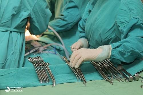 Với phẫu thuật TOT, tình trạng són tiểu chấm dứt ngay sau khi hoàn thành phẫu thuật.