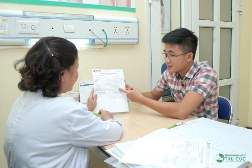 Thăm khám để được chẩn đoán và điều trị ngay khi có dấu hiệu viêm đường tiết niệu