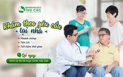 Bệnh viện Thu Cúc triển khai dịch vụ bác sĩ khám bệnh tại nhà