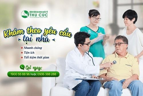 Bệnh viện Thu Cúc triển khai dịch vụ khám theo yêu cầu tại nhà