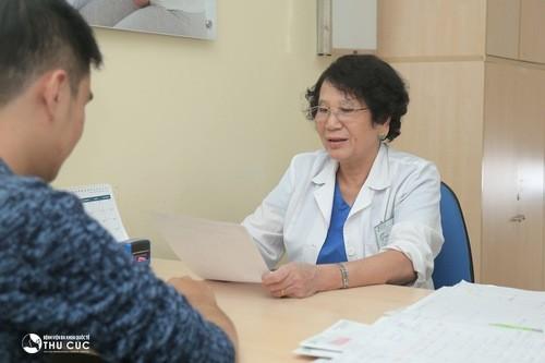 Khi thấy có triệu chứng bất thường, cần đi khám tại cơ sở y tế, xác định bệnh