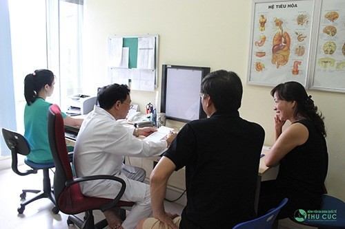 Thăm khám để được điều trị hiệu quả