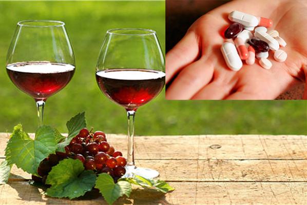 Không sử dụng rượu trong khi uống thuốc