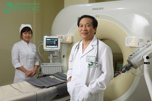 Bệnh viện Đa khoa Quốc tế Thu Cúc có đội ngũ Giáo sư, bác sĩ tim mạch giỏi là địa chỉ thăm khám và điều trị uy tín được nhiều người bệnh tin tưởng, lựa chọn