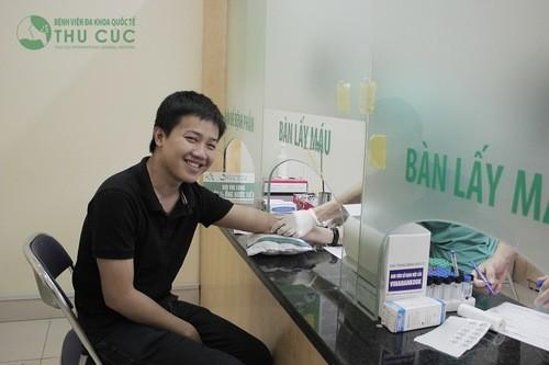 Bệnh viện Thu Cúc là địa chỉ xét nghiệm nhóm máu uy tín, hiệu quả